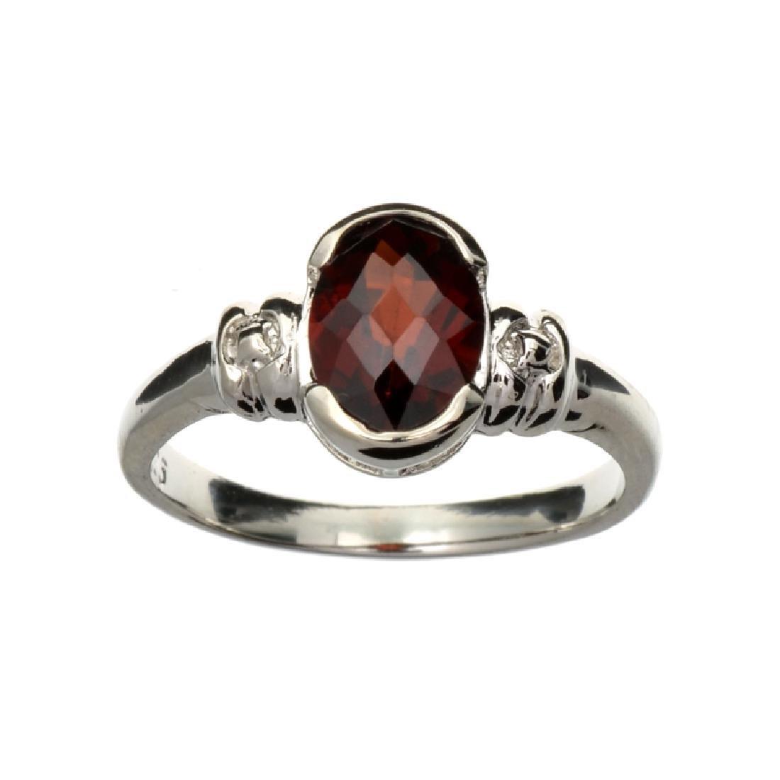 APP: 1k Fine Jewelry 1.75CT Oval Cut Almandite Garnet