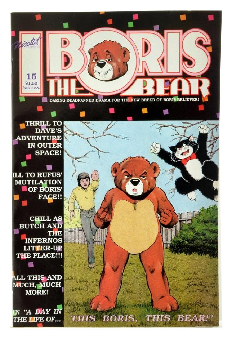 Boris the Bear (1986) Issue 15