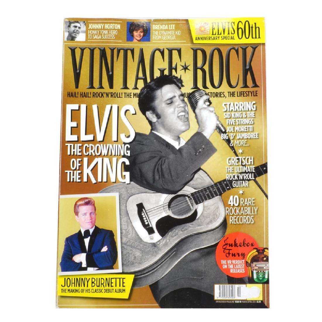 Vintage Rock Magazine Elvis Special Issue March/April