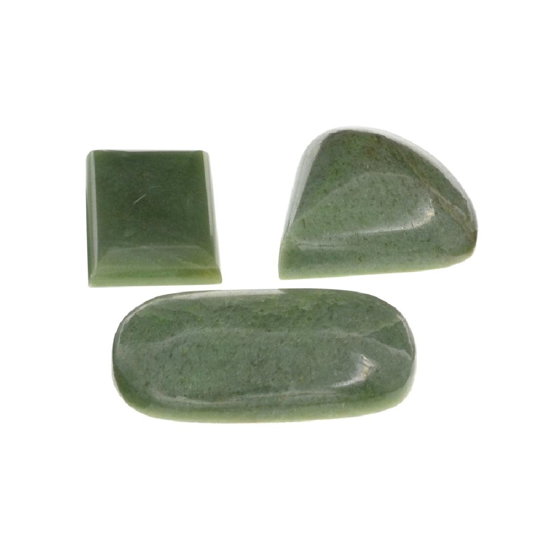 APP: 1.8k 227.71CT Various Shapes And sizes Nephrite