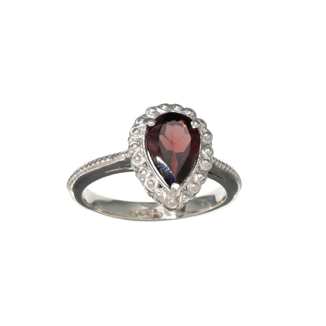 APP: 0.3k Fine Jewelry 2.27CT Pear Cut Red Almandite