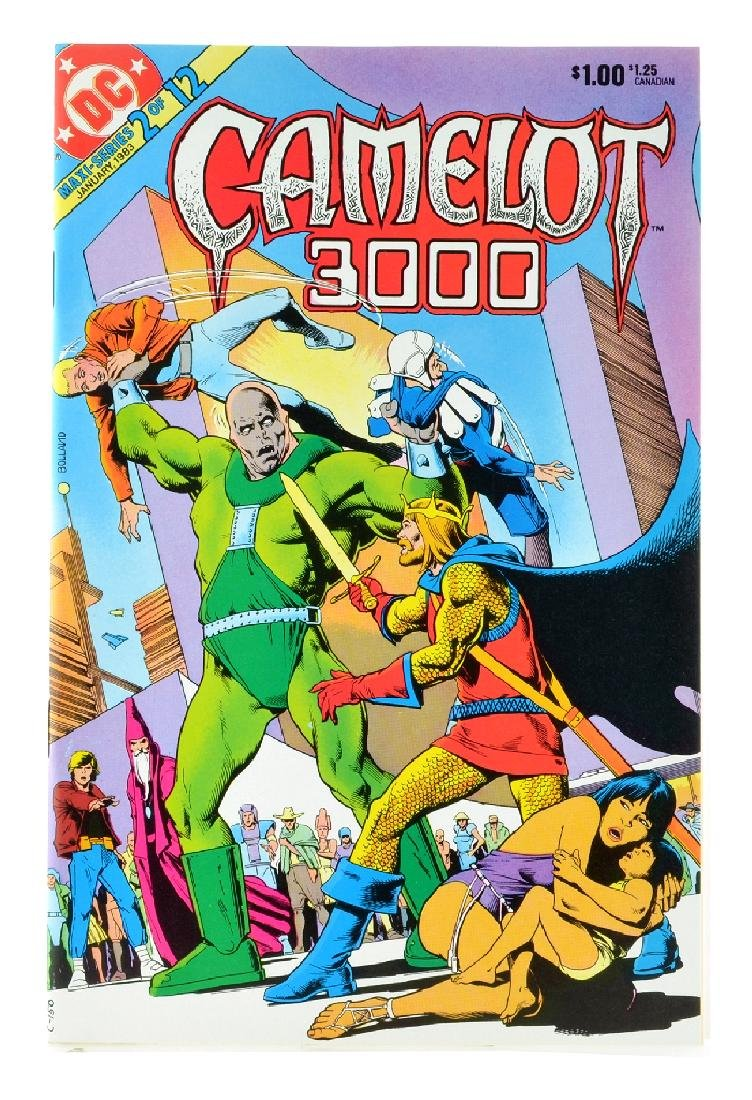 Camelot 3000 (1982) Issue 2