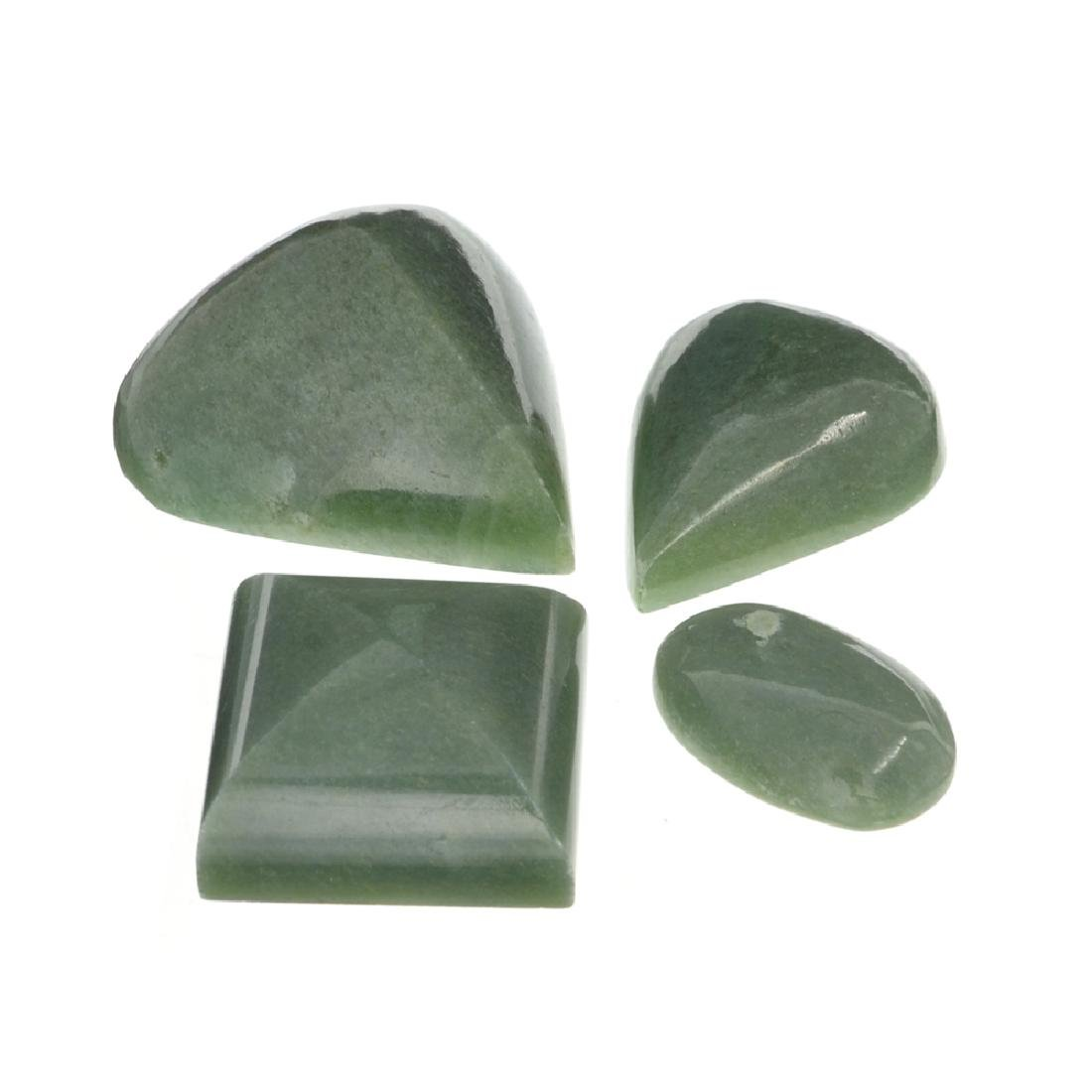 APP: 1.6k 205.60CT Various Shapes And sizes Nephrite