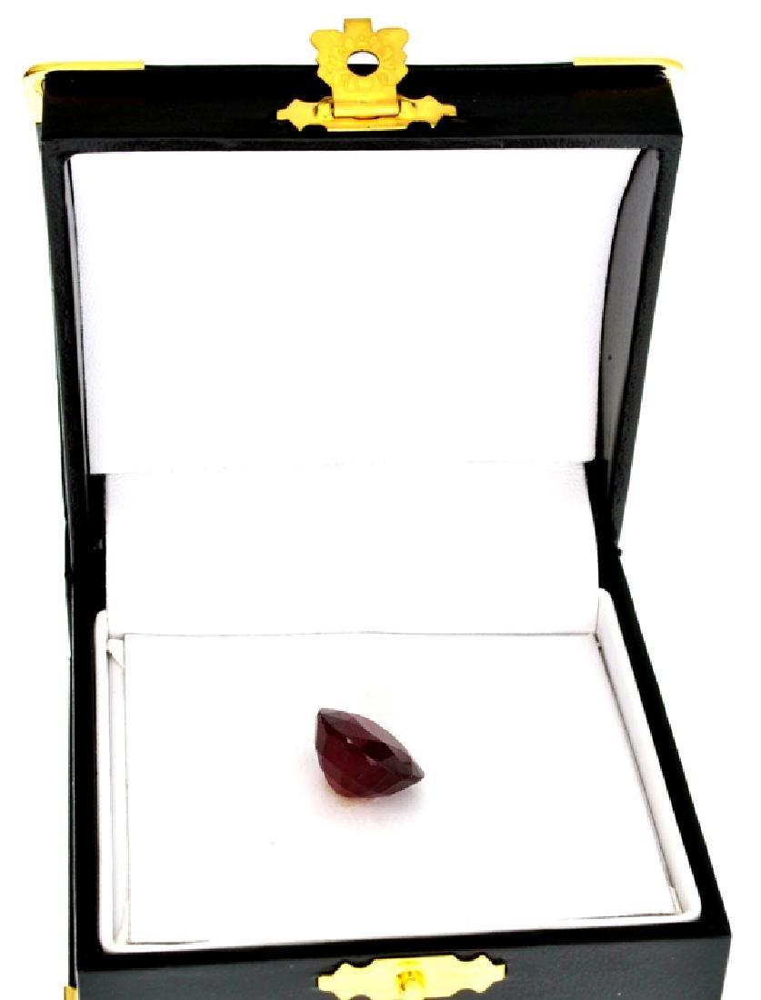 APP: 8.1k 14.09CT Oval Cut Ruby Gemstone