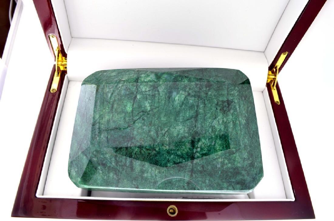 APP: 17.5k 5,395.00CT Emerald Cut Green Beryl Emerald