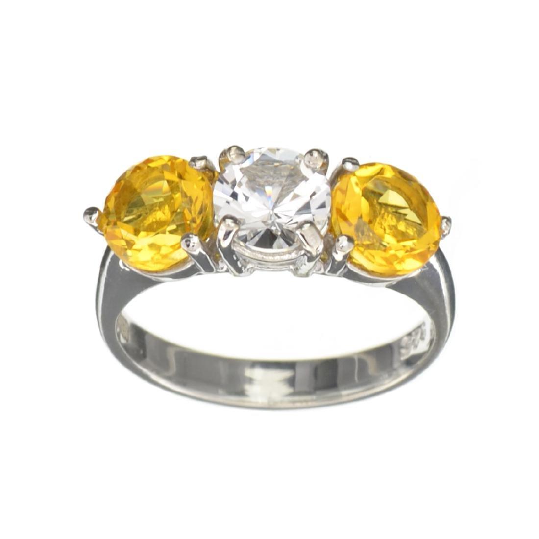 Fine Jewelry Designer Sebastian 2.58CT Round Cut