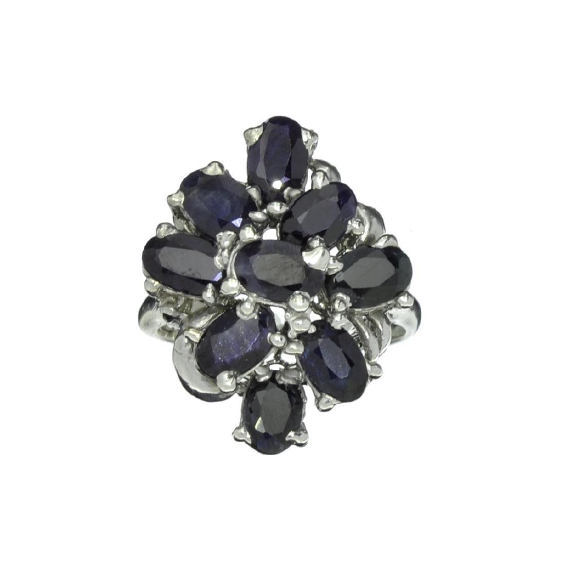 Fine Jewelry Designer Sebastian 1.75CT Oval Cut Bllue