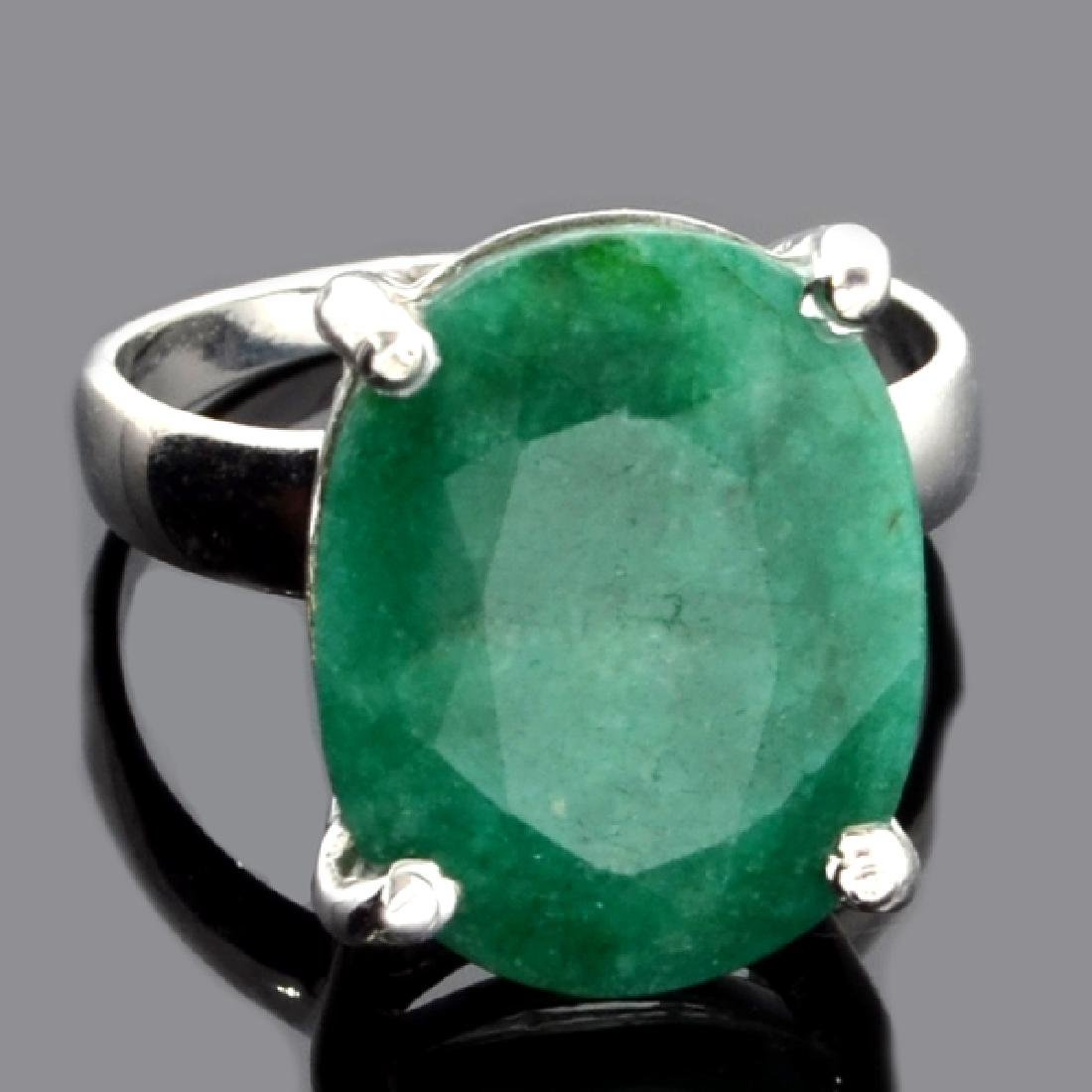 Fine Jewelry Designer Sebastian 7.60CT Oval Cut Green