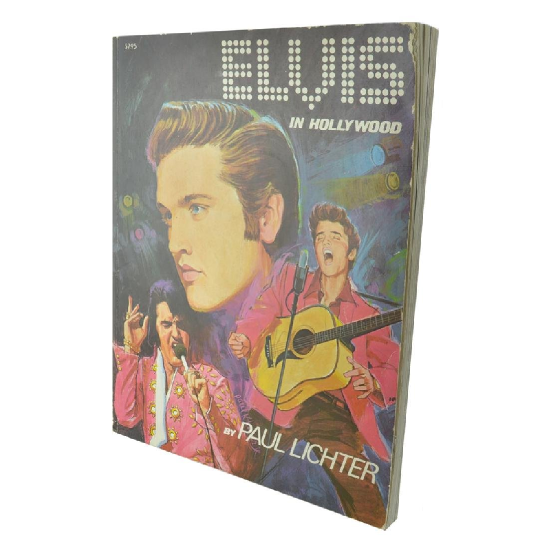 Elvis In Hollywood By Paul Lichter (Paperback)