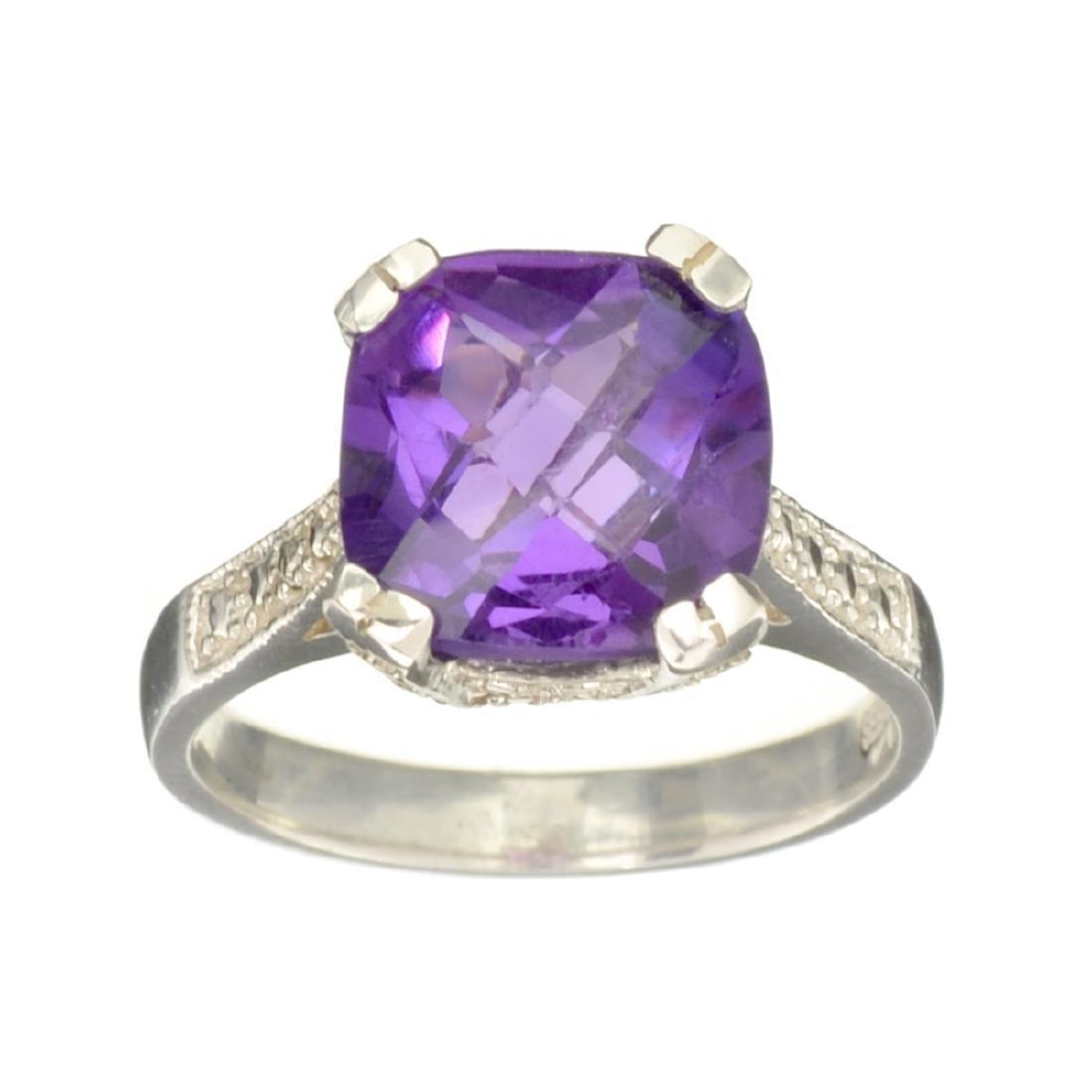 Fine Jewelry Designer Sebastian 3.53CT Square Cushion