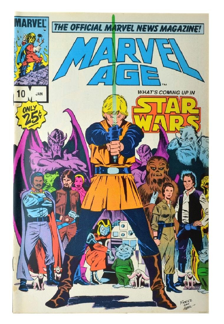 Marvel Age (1983) Issue 10