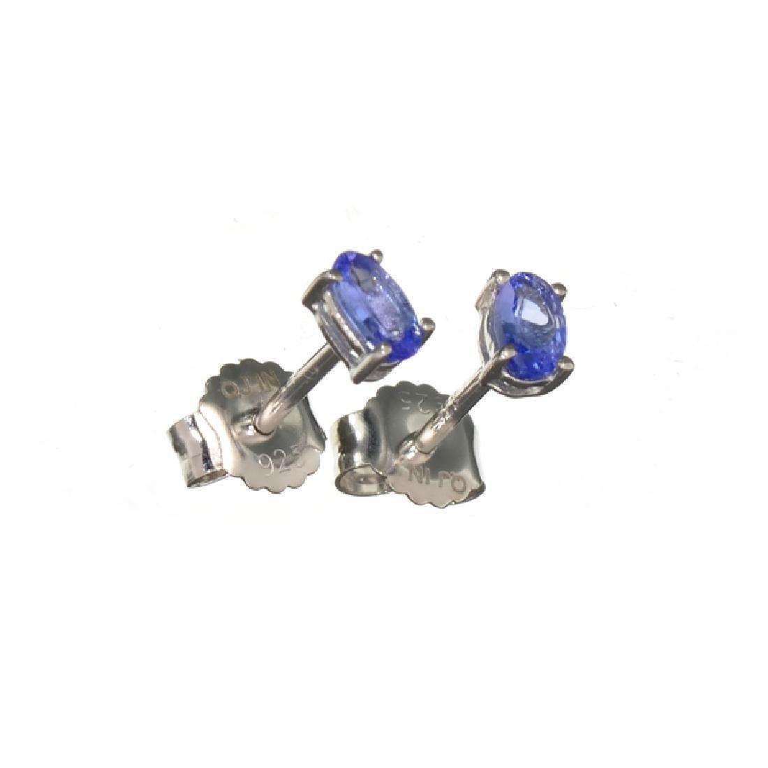 APP: 0.5k Fine Jewelry 0.50CT Oval Cut Tanzanite Over
