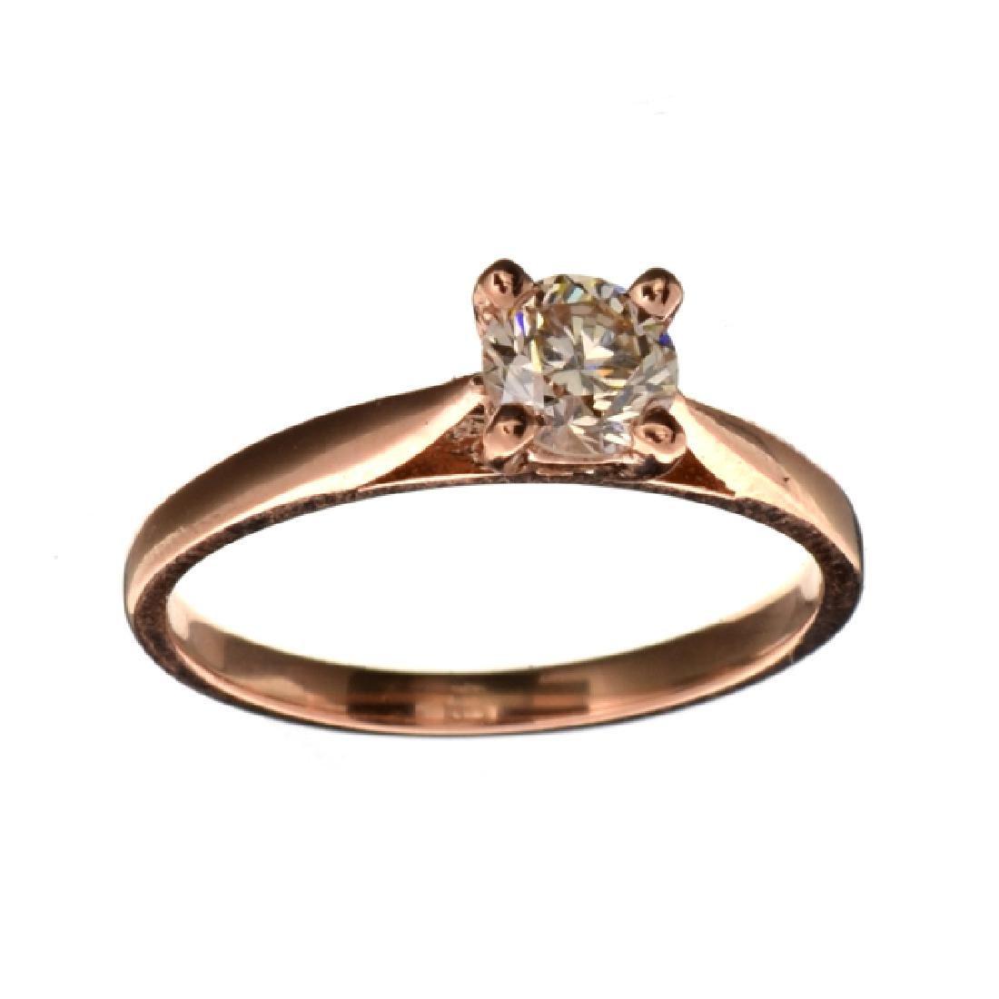 APP: 4.8k Fine Jewelry 14 kt. Rose Gold, 0.50CT