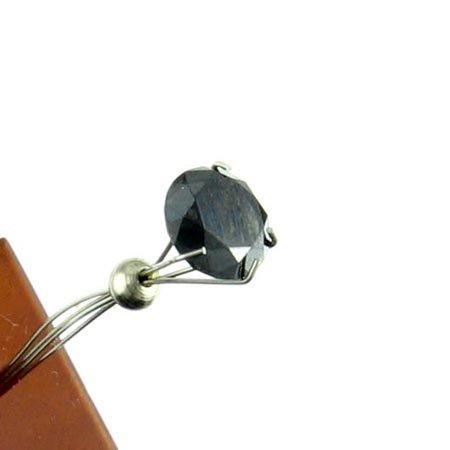 801: 1.50CT Rare Black Diamond Gemstone, INVESTORS LOOK