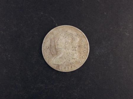 805: 1836 Busted Half Dollar Coin, COLLECTORS' ITEM!!