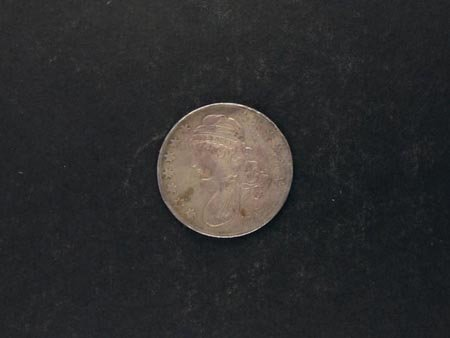 815: 1834 Busted Half Dollar Coin, COLLECT!