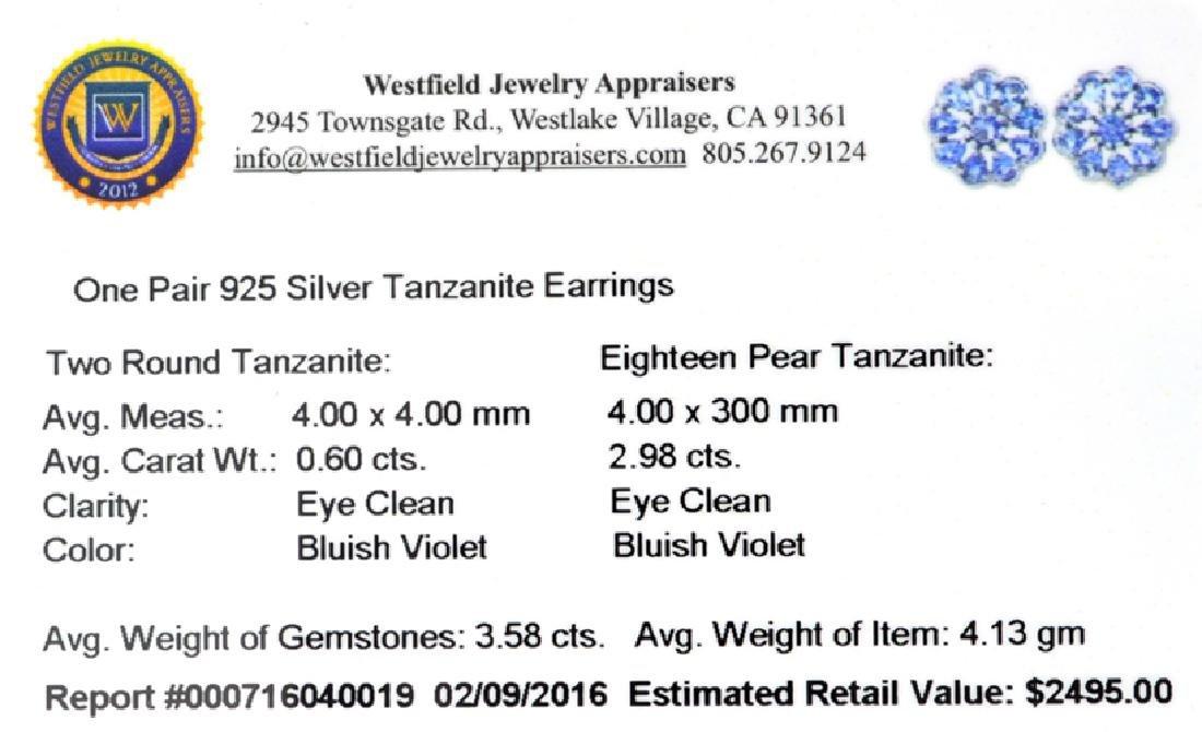 APP: 2.5k Fine Jewelry 0.60CT Round Cut Tanzanite And - 2