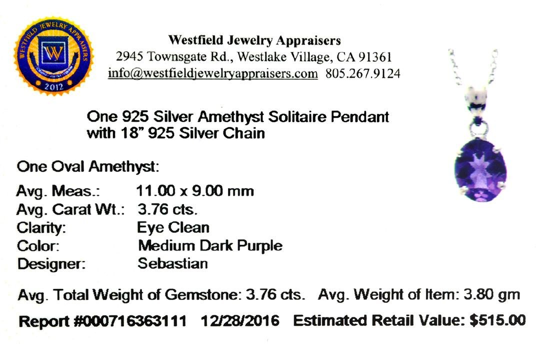 Fine Jewelry Designer Sebastian 3.76CT Oval Cut - 2