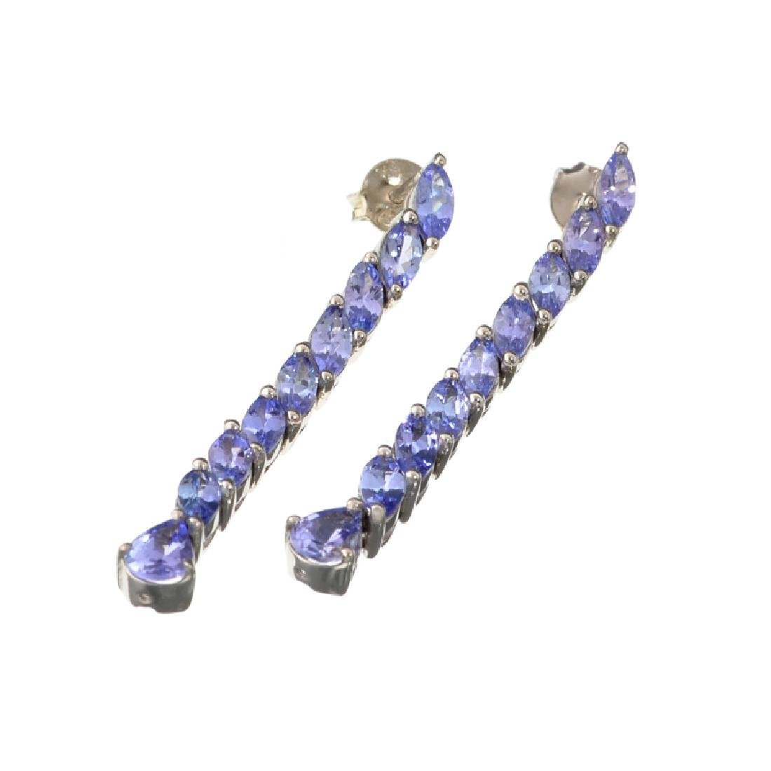 APP: 2.1k Fine Jewelry 0.75CT Pear Cut Tanzanie And