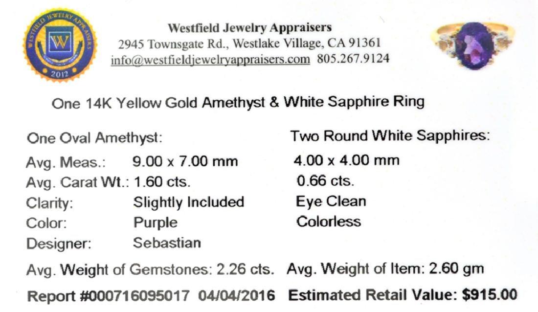 APP: 0.9k Fine Jewelry Designer Sebastian 14KT Gold, - 2