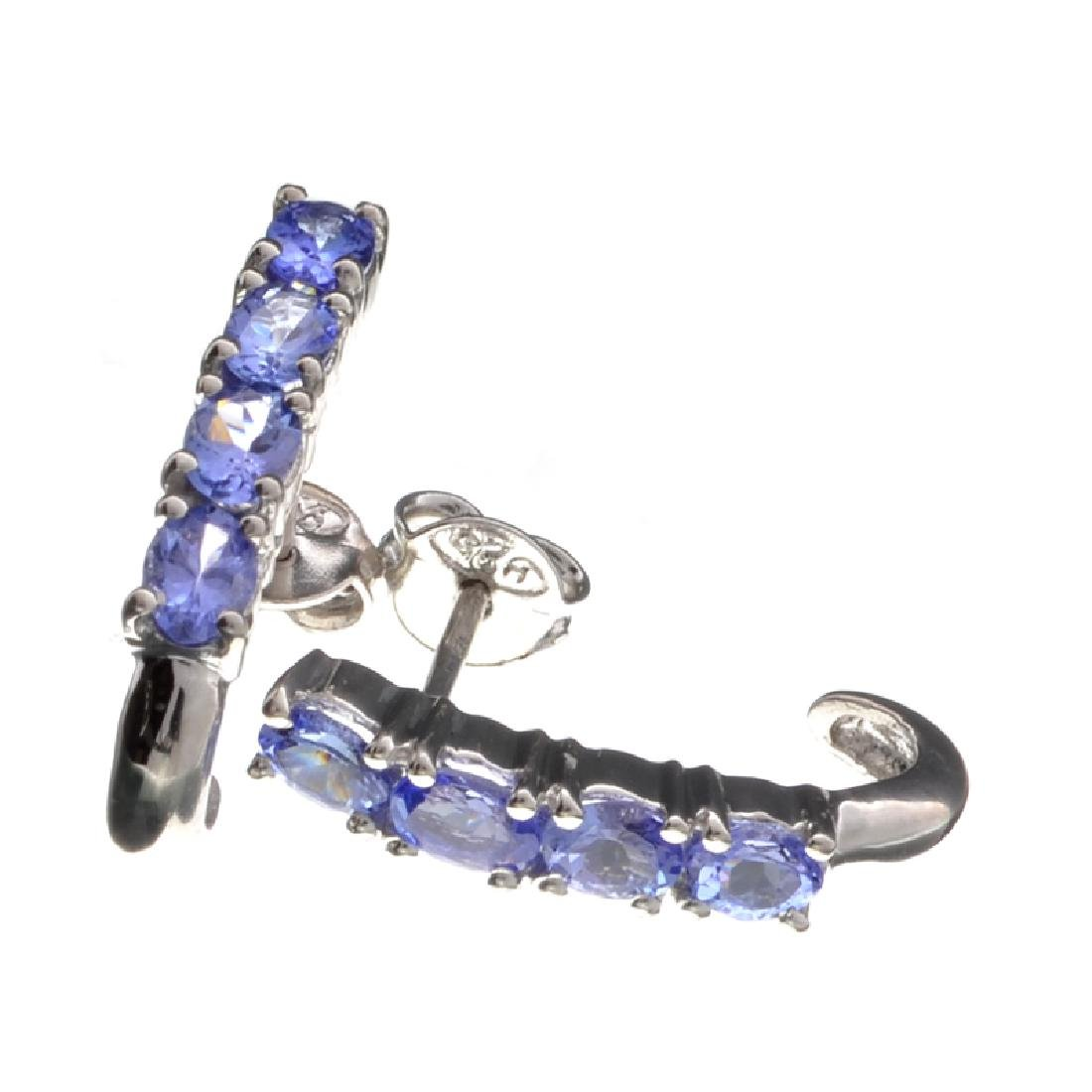 APP: 1k Fine Jewelry 1.03CT Oval Cut Tanzanite And