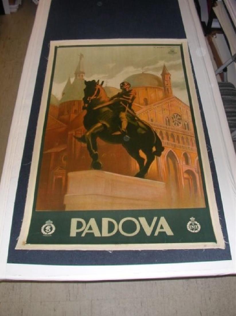 Padova by Marcel Dudovich on Linen