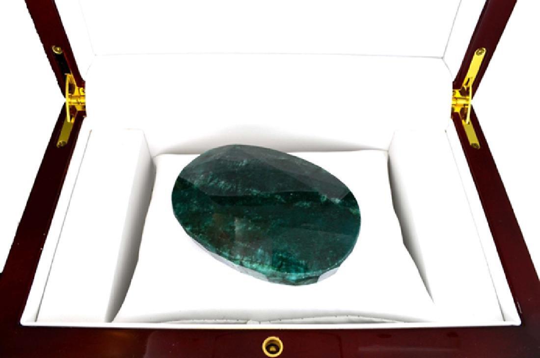 APP: 50.1k 748.00CT Green Emerald Gemstone