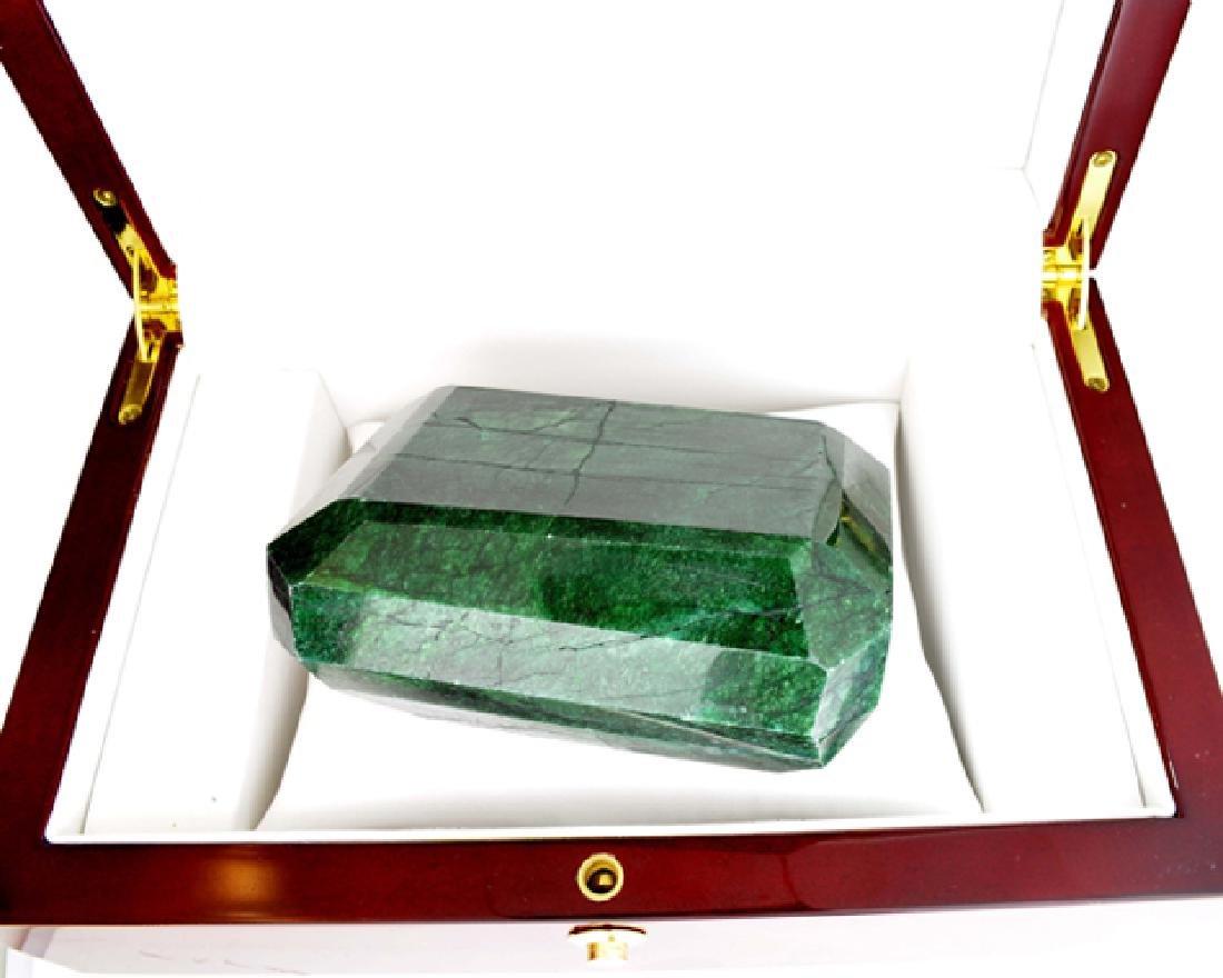 APP: 14.7k 2451.40CT Emerald Cut Green Beryl Emerald