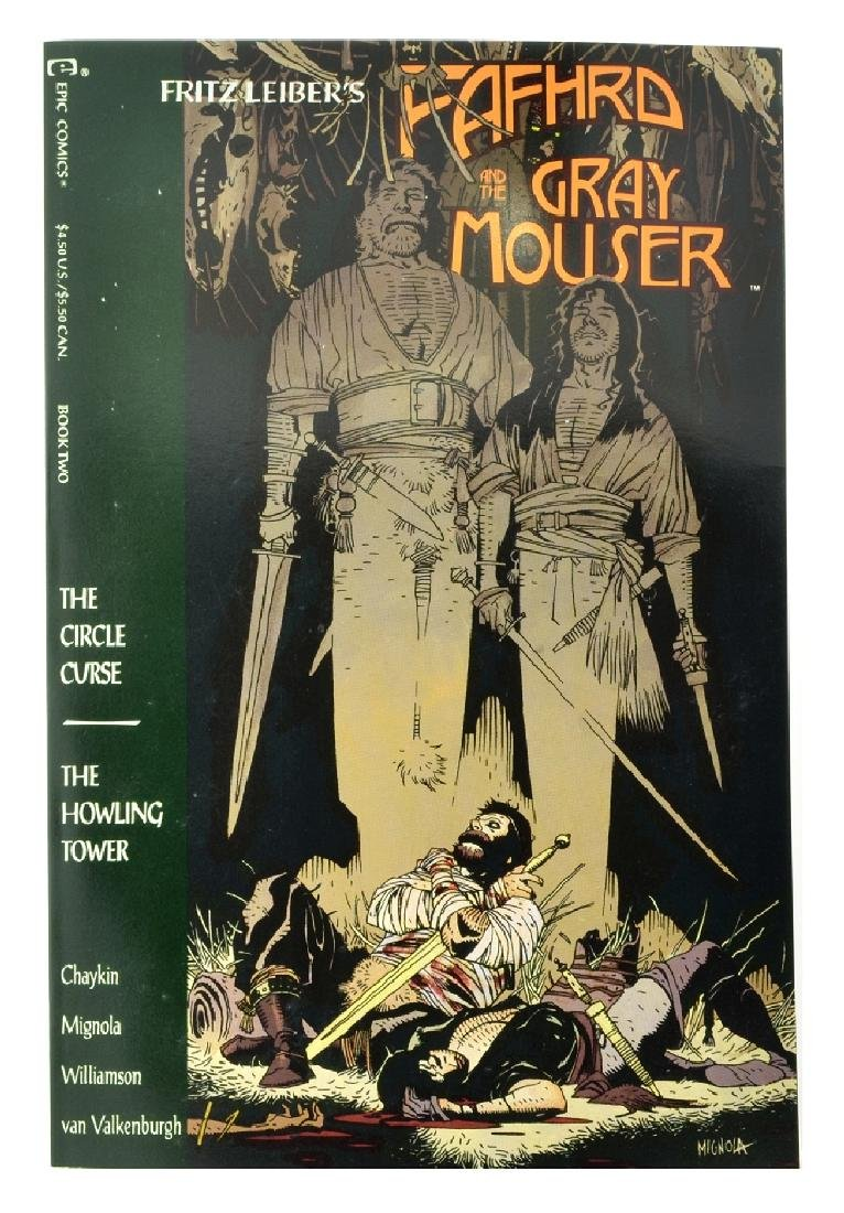 Fafhrd and the Gray Mouser (1990 Marvel) Issue 2