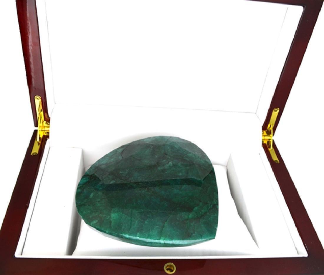 APP: 15.7k 1961.15CT Pear Cut Green Beryl Emerald