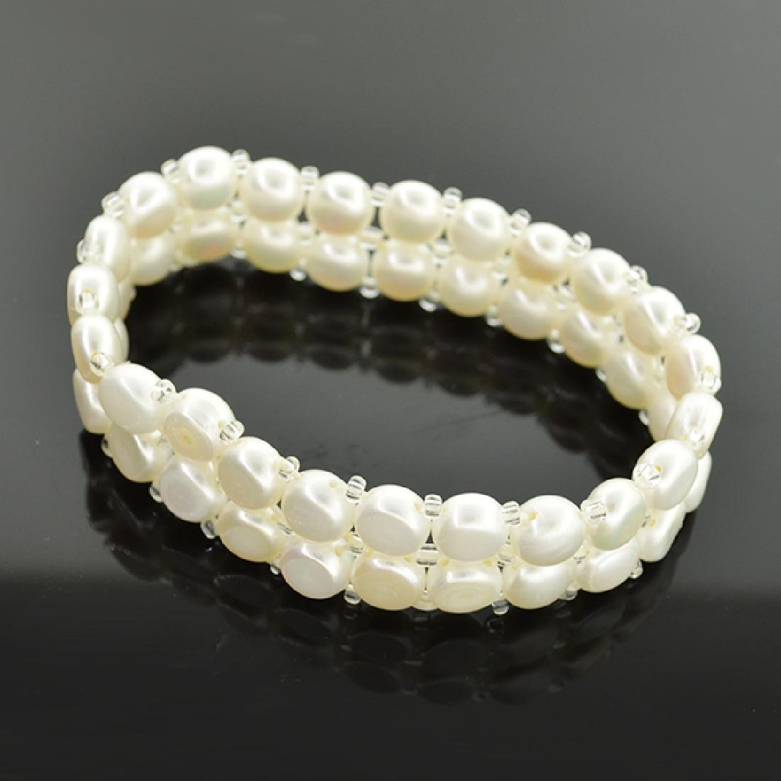 Pearl Bracelet and Ring Set