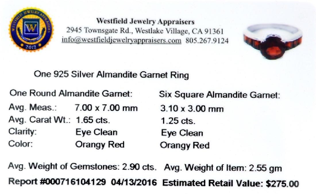 APP: 0.3k Fine Jewelry 2.90CT Almandite Garnet And - 2