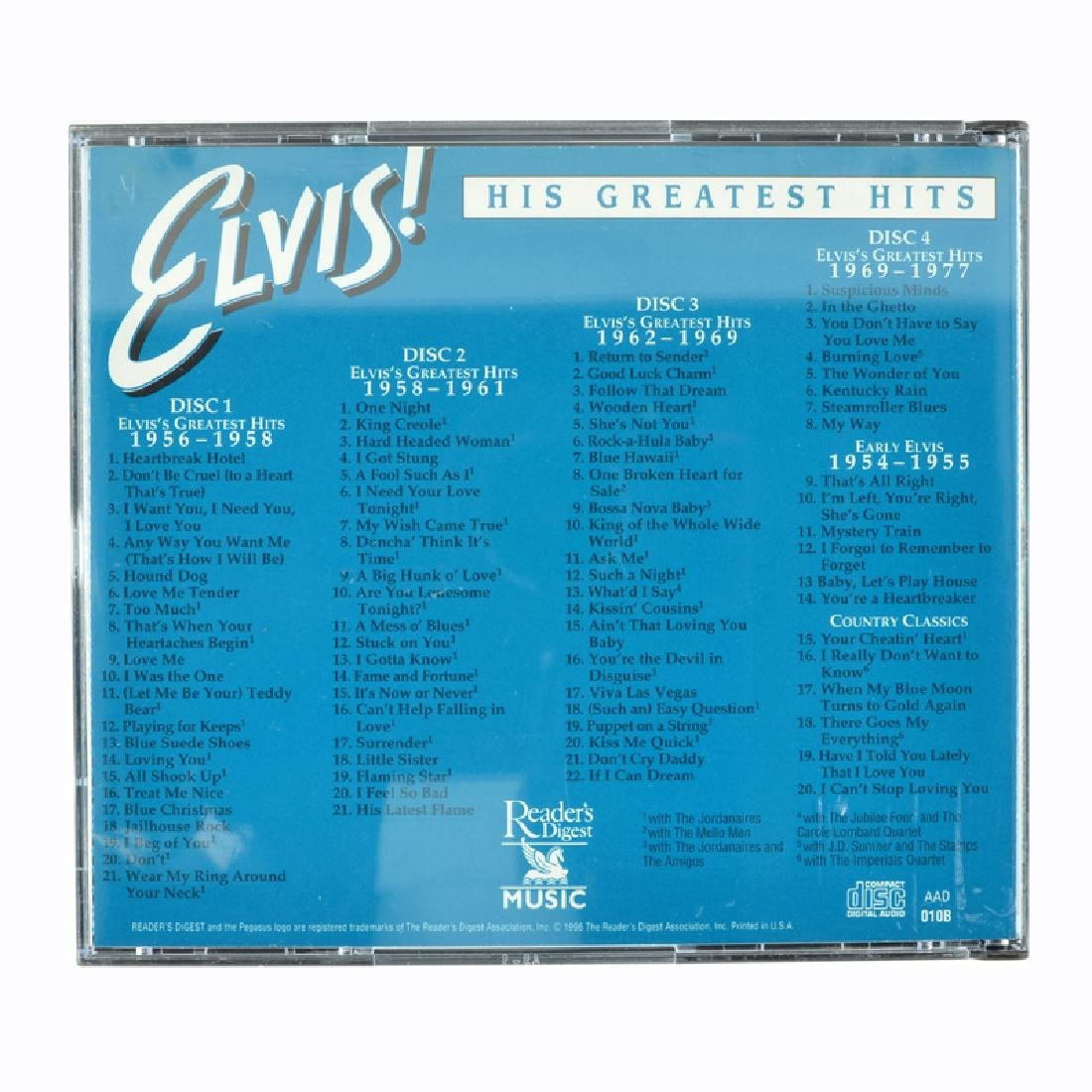 Elvis Presley 4 CD's His Greatest Hits - 2