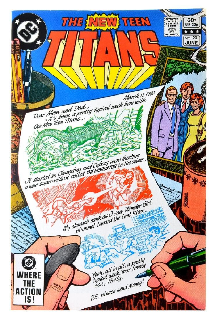 New Teen Titans (1980) Issue (Tales of ...) Issue  20