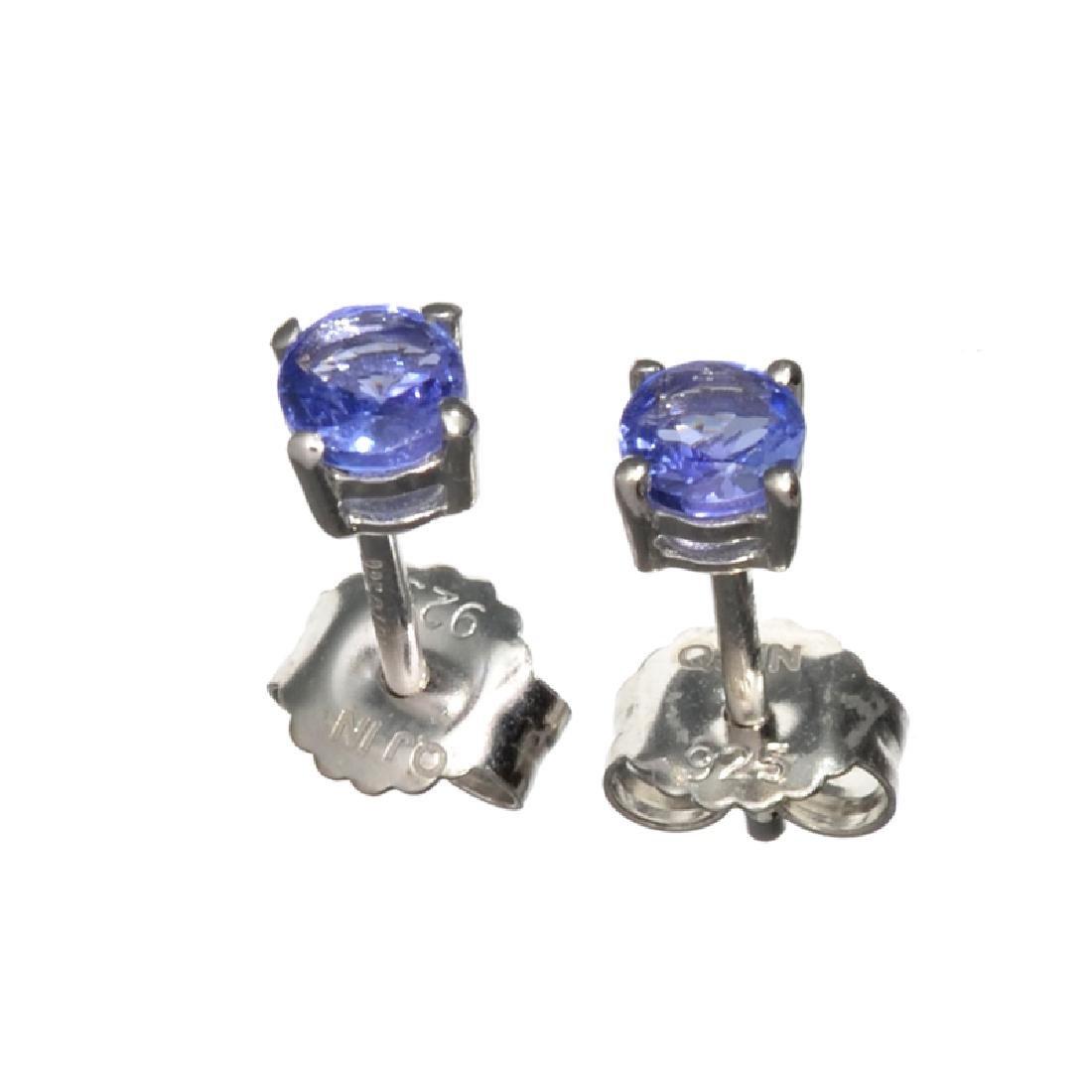 APP: 0.8k Fine Jewelry 0.50CT Round Cut Tanzanite And