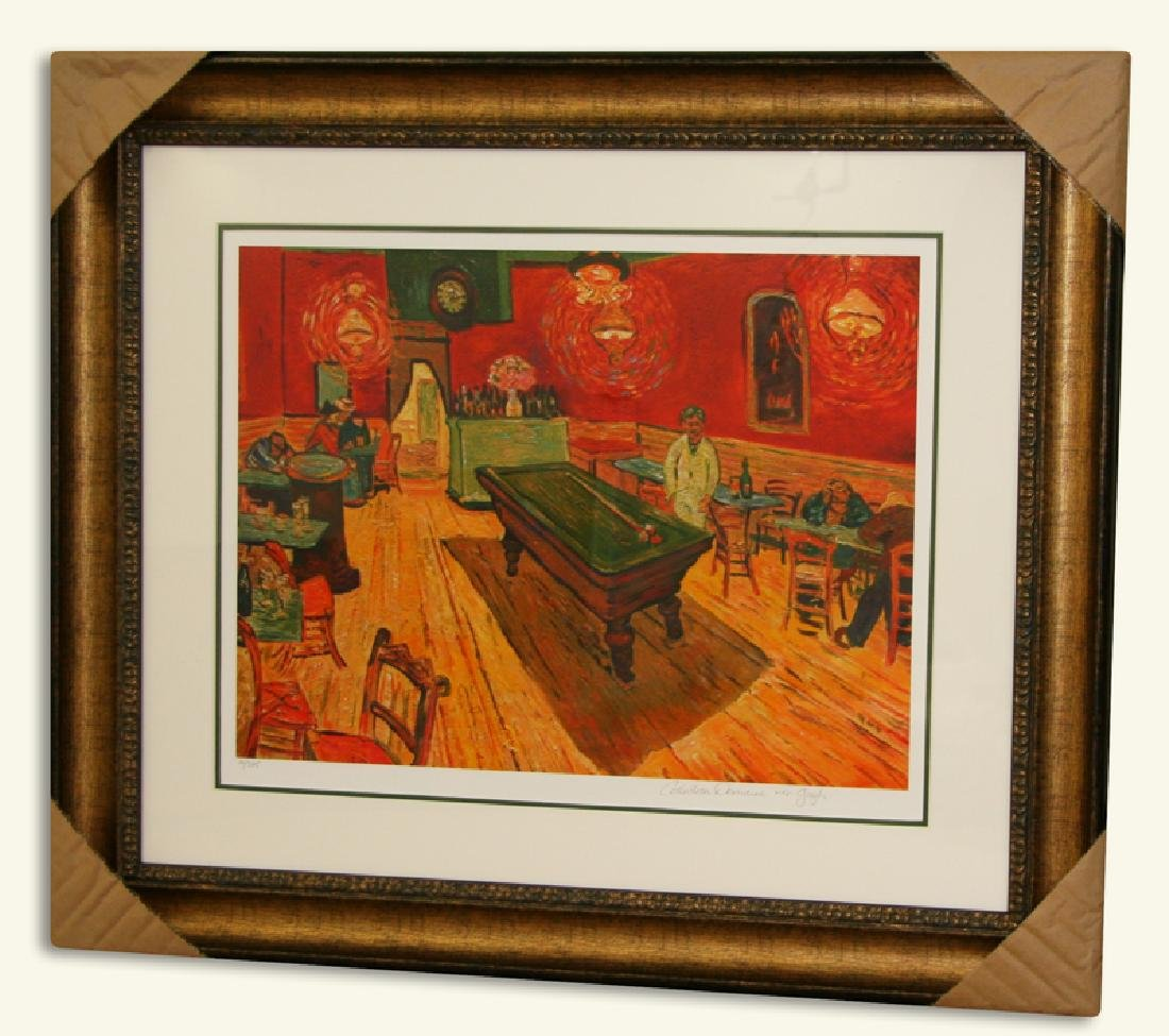 Van Gogh (After) -Limited Edition Museum Framed