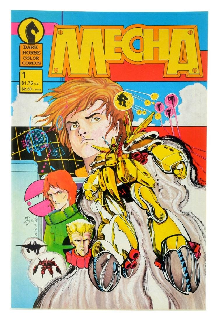 Mecha (1987) Issue 1