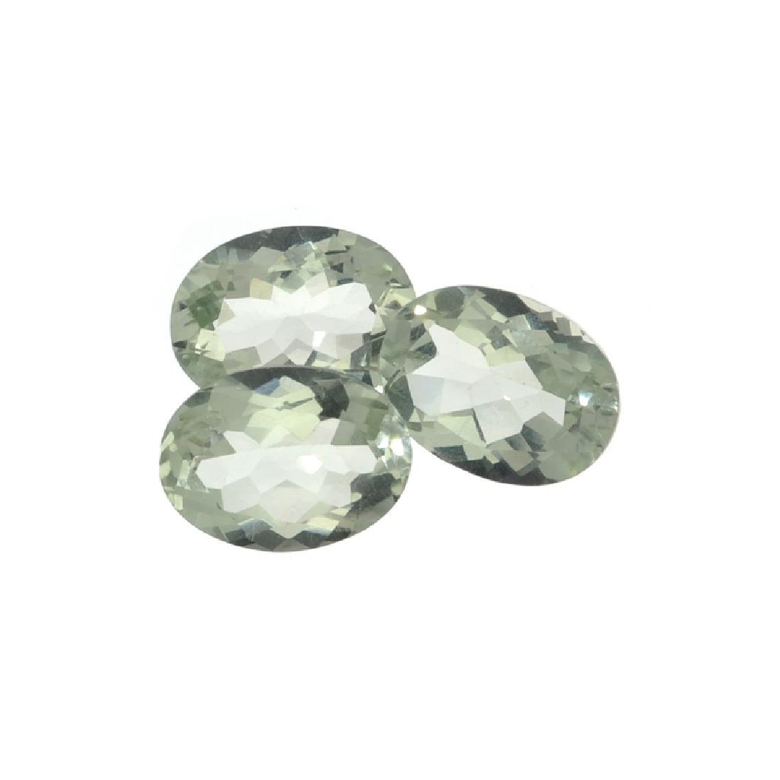 APP: 1k 22.00CT Oval Cut Green Quartz Parcel