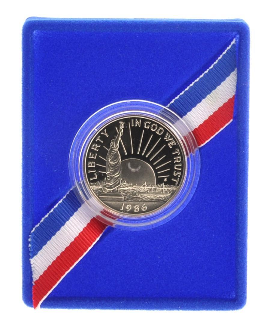 1986 Uncirculated Liberty Half Dollar Proof Coin