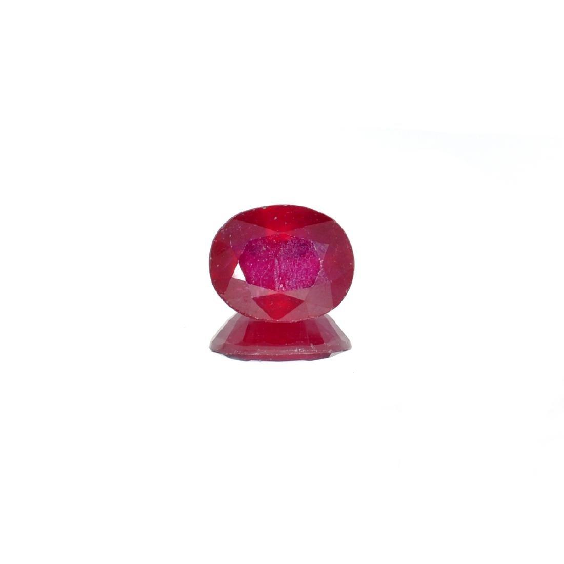 APP: 1.6k 6.06CTCT Oval Cut Ruby Gemstone