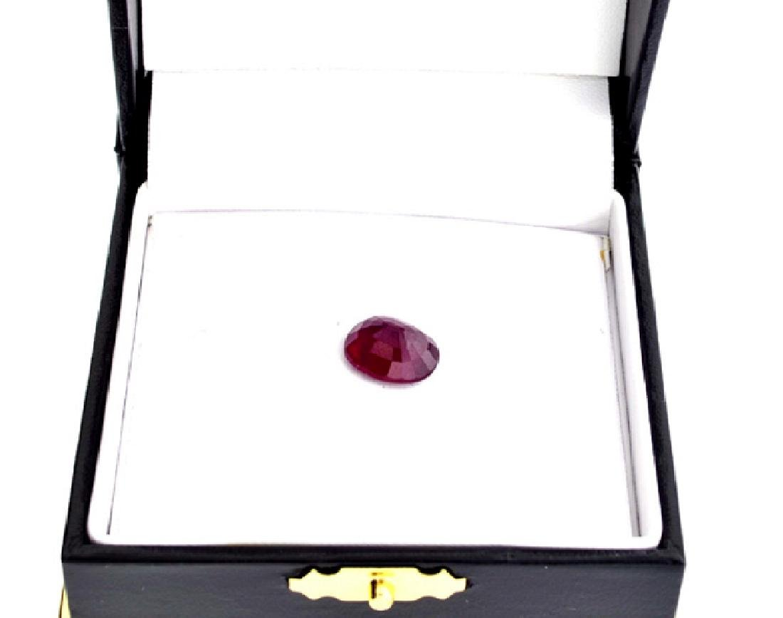 APP: 1.6k 6.06CTCT Oval Cut Ruby Gemstone - 2