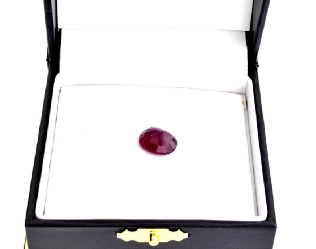 APP: 1.6k 6.06CTCT Oval Cut Ruby Gemstone - 2