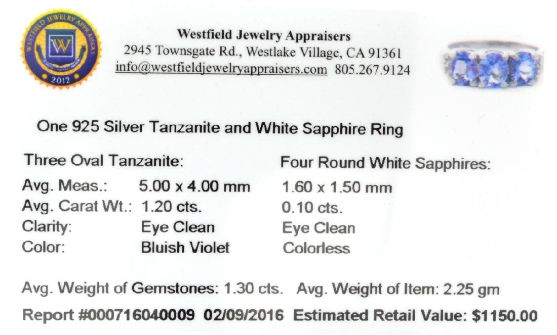 APP: 1.2k Fine Jewelry 1.30CT Oval Cut Tanzanite  And - 2