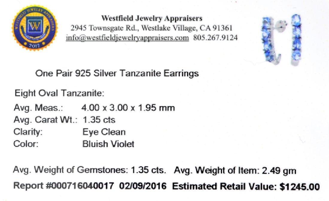 APP: 1.2k Fine Jewelry 1.35CT Oval Cut Tanzanite And - 2