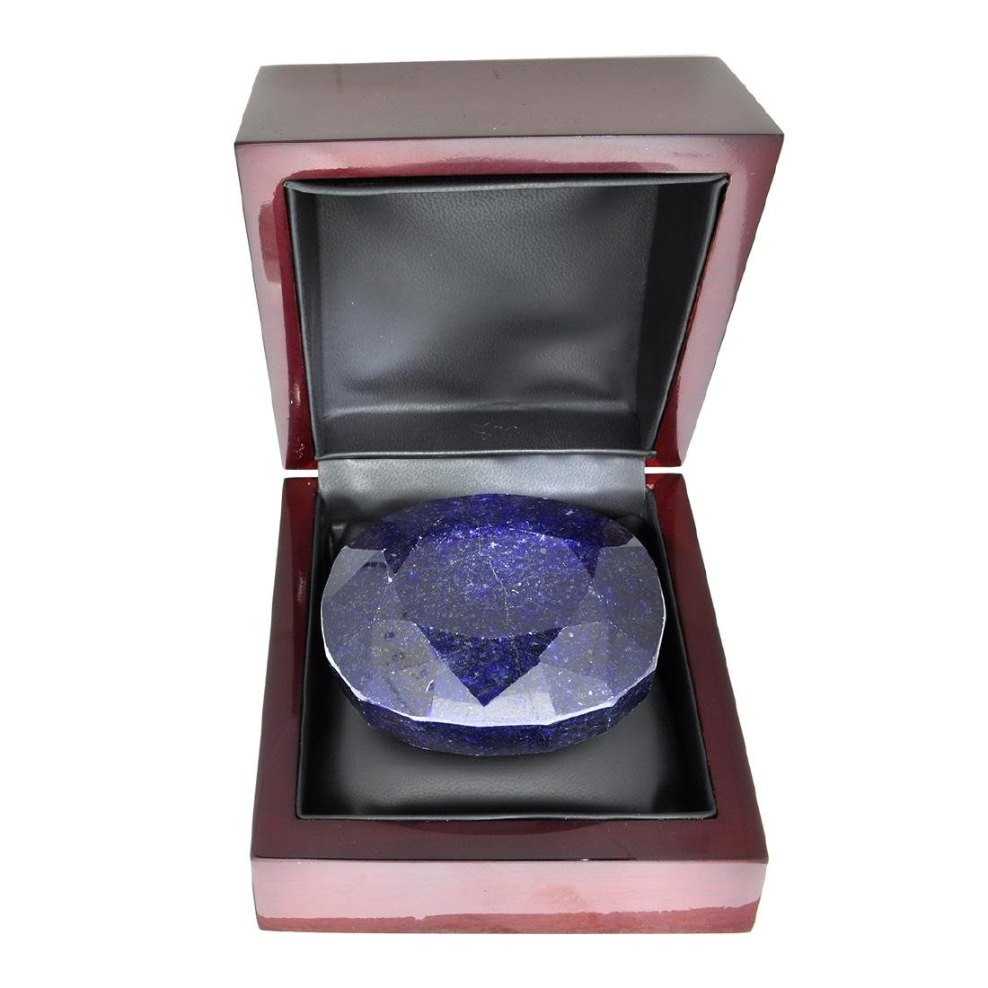 APP: 4.4k 1,755.75CT Oval Cut Blue Sapphire Gemstone