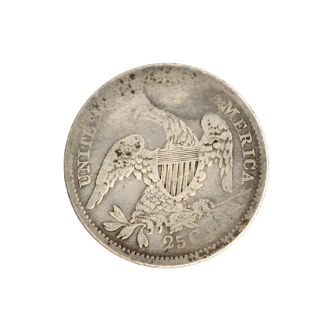 1835 Capped Bust Quarter Dollar Coin - 2