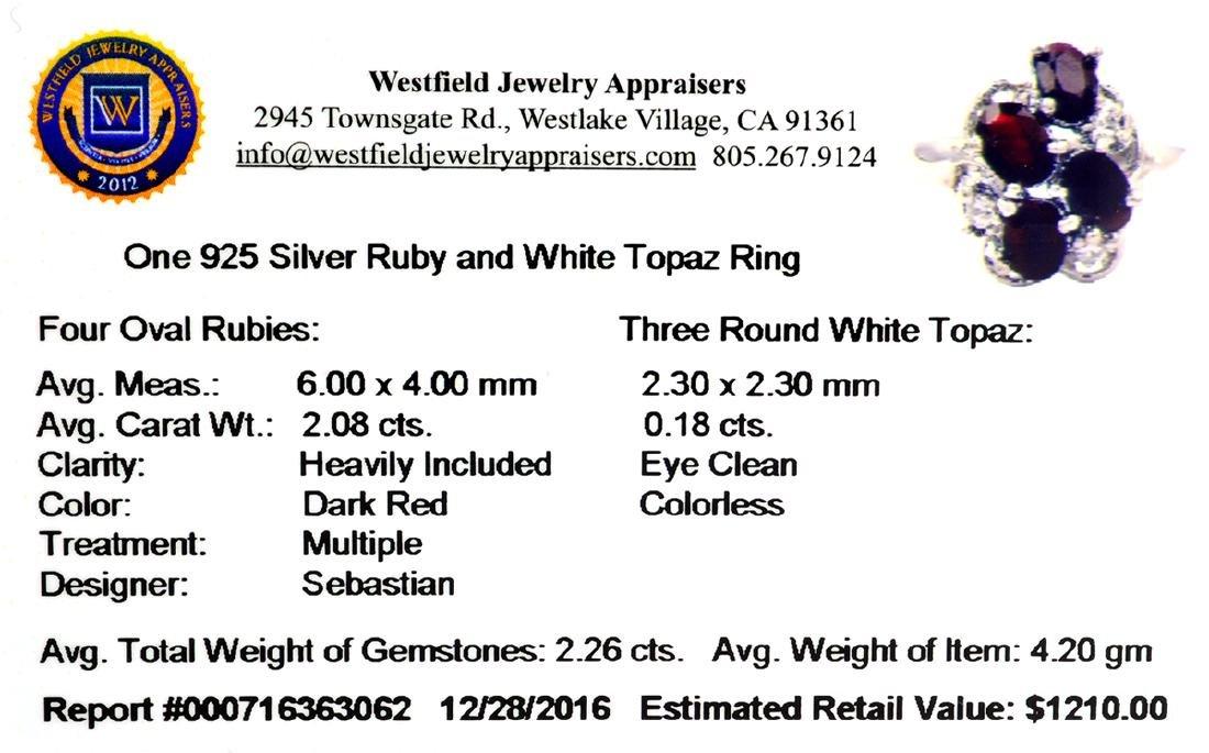 APP: 1.2k Fine Jewelry Designer Sebastian, 2.26CT Ruby - 2