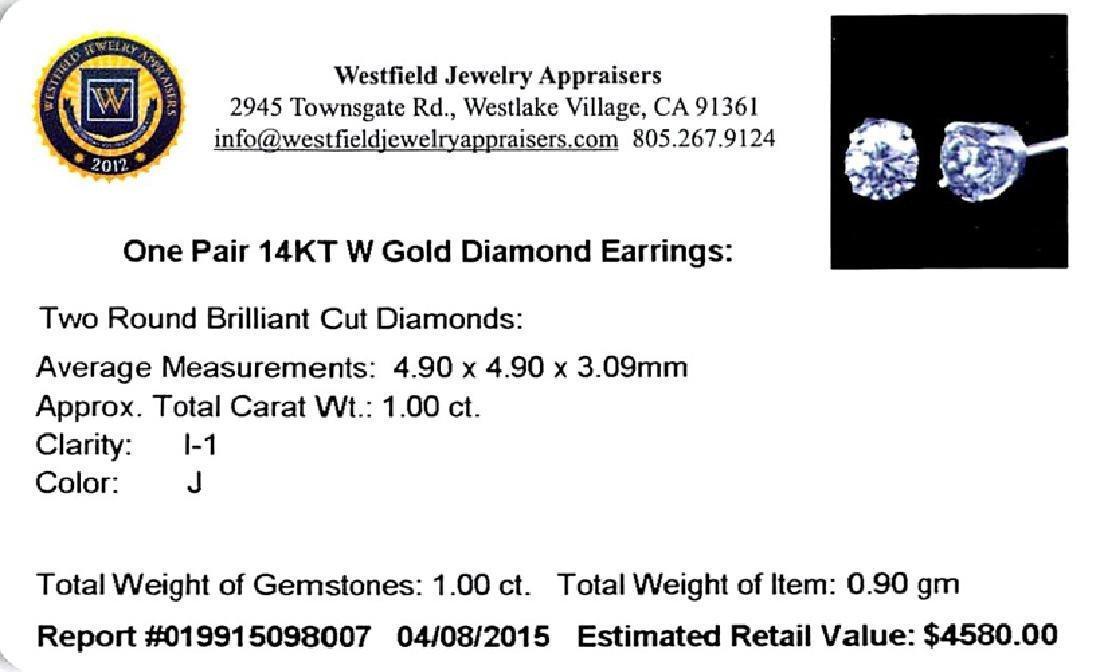 APP: 4.6k *Fine Jewelry 14 kt. White Gold, Custom Made - 2