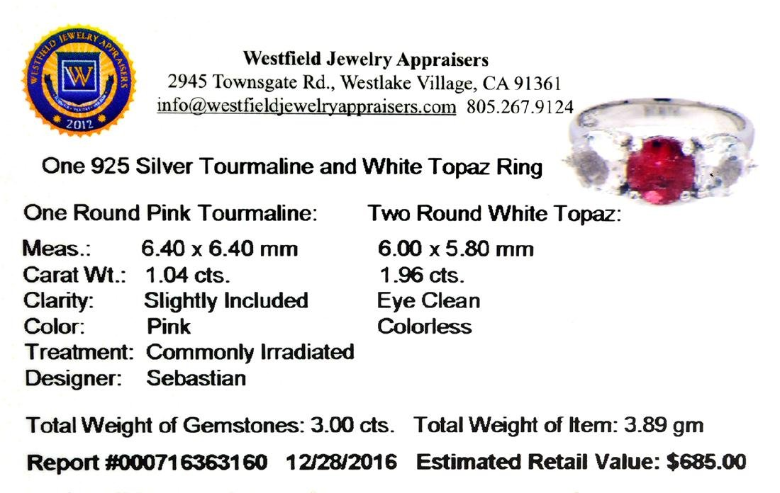 Fine Jewelry Designer Sebastian 3.00CT Round Cut - 2