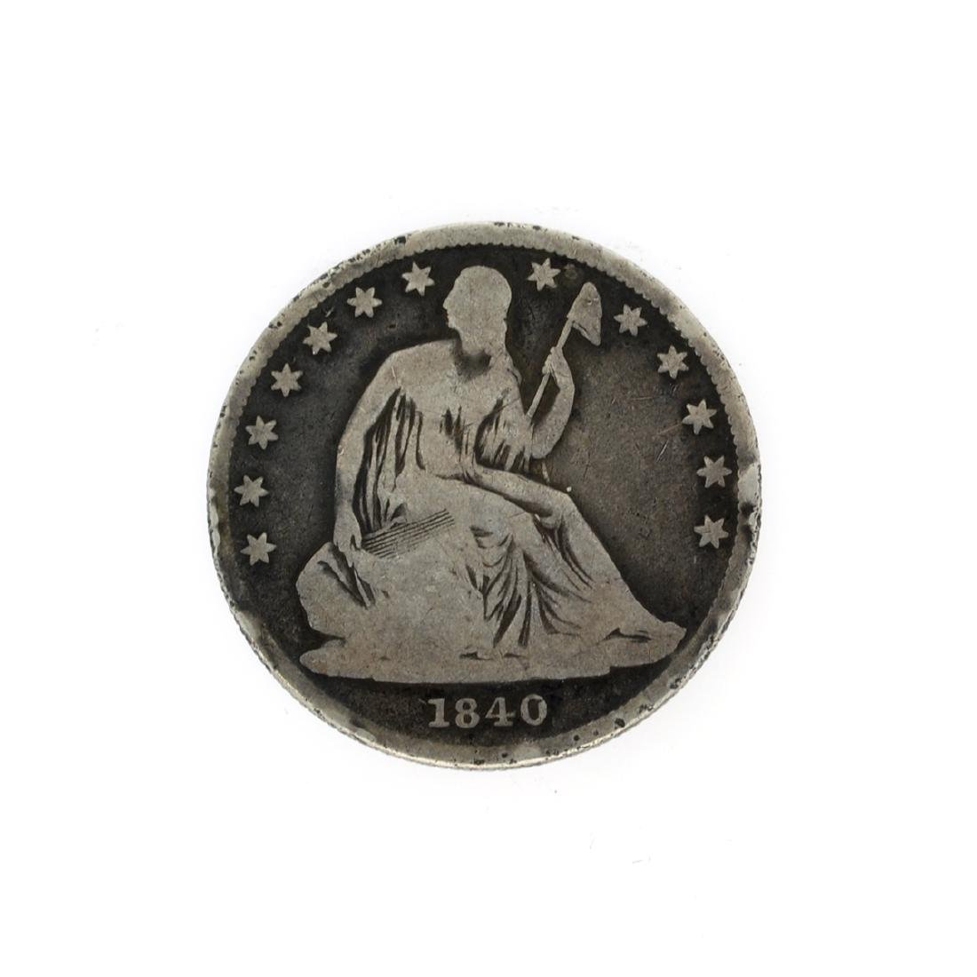 Rare 1840-O Liberty Seated Half Dollar Coin